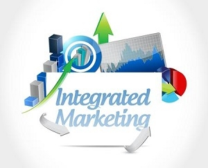 47320907 - integrated marketing board sign concept illustration design graphic icon