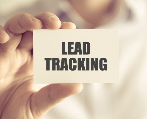 Marketing lead tracking